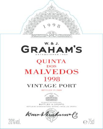 Graham Malvedos rotulo 1998