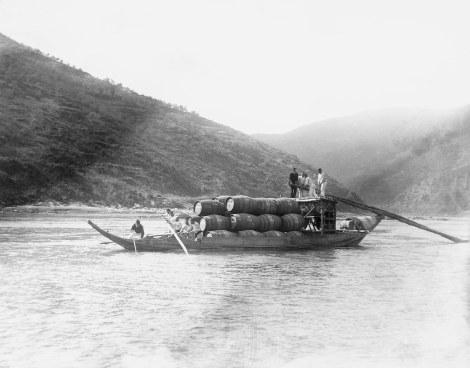 Archive photo of a barco rabelo near Graham's Quinta dos Malvedos