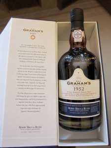 The Graham's 1952 Diamond Jubilee Port