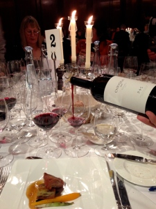 The Chryseia 2007 Douro wine, made jointly by the Symington family and Bruno Prats, drew manty superlatives from those present.