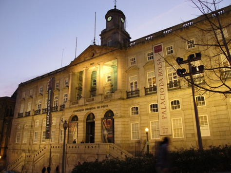 "Porto's old stock exchange, the venue for the 10th edition of ""Essência do Vinho."""