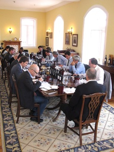 Many of Portugal's most influential wine writers gathered at the Graham's Lodge to gain their first impressions of the 2011 Vintage Ports.
