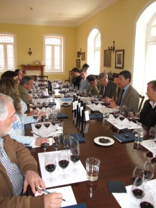 Paul and Charles guide the 2011 Vintage Ports tasting