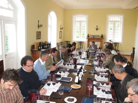 The second 2011 Vintage Port tasting at the Graham's Lodge attracted 15 journalists, wine writers and critics.