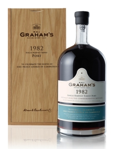 Jeroboam Nº1 will be auctioned at a fund raising dinner in Graham's Vinum Restaurant on November 21st.