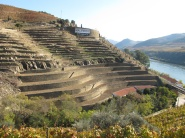 Note the massive dry stone terraces (lower) and the smaller terraces higher up.