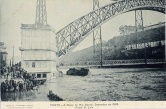 The Dom Luis Bridge which narrowly missed being washed away by the destructive force of the 1909 flood.