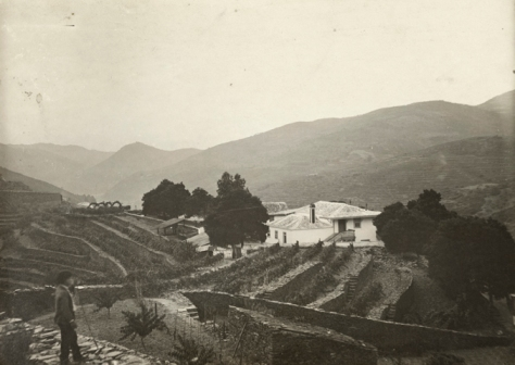 Quinta dos Malvedos, photographed in early January 1910, a couple of weeks after the epic flood of Decemmber 1909.