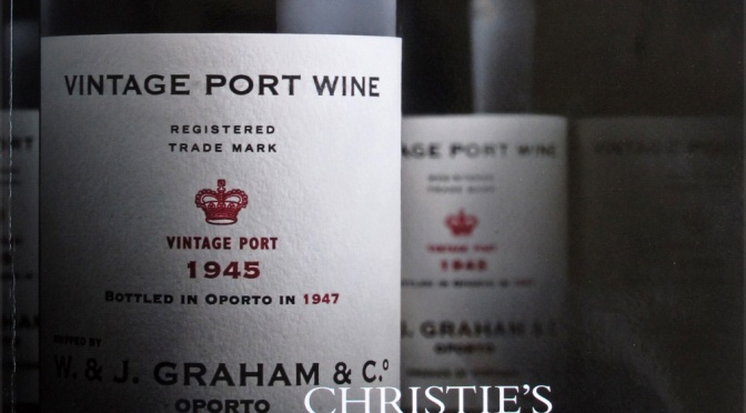 GRAHAM'S 1945 VINTAGE PORT: ALIVE AND WELL