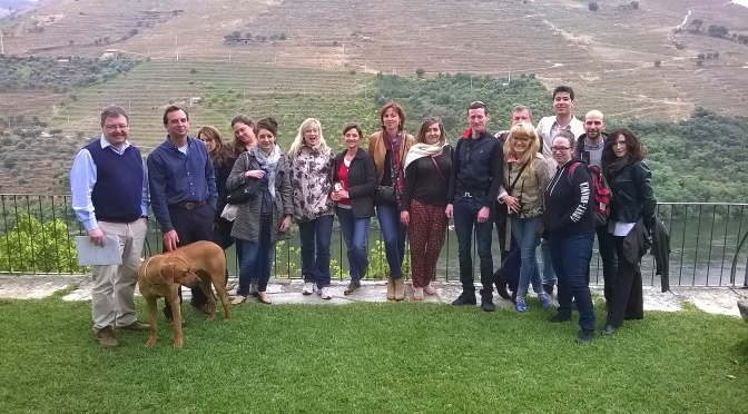 Masters of Wine candidates visit the Douro Valley