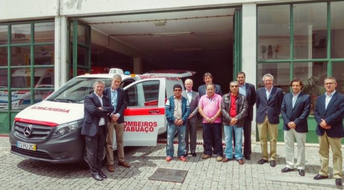 Symington Family Estates Donate Ambulance to Tabuaço Volunteer Fire Brigade