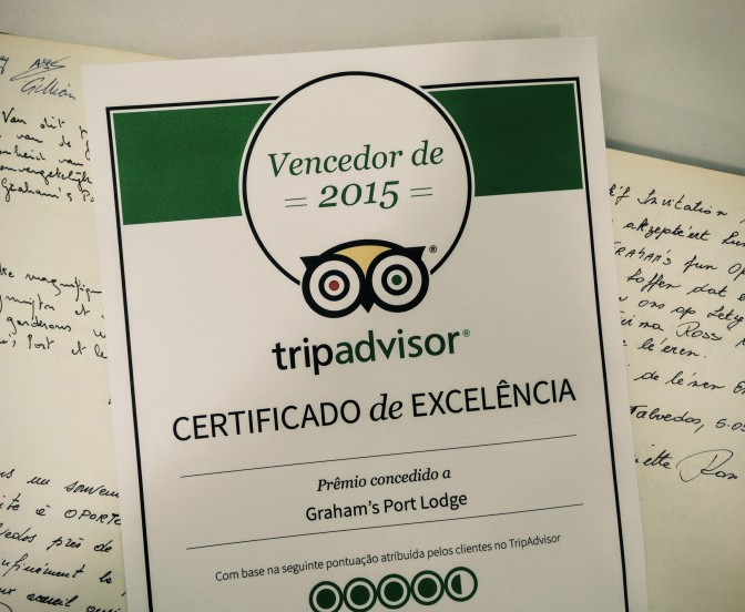 "Graham's Lodge Awarded TripAdvisor's ""Certificate of Excellence"""