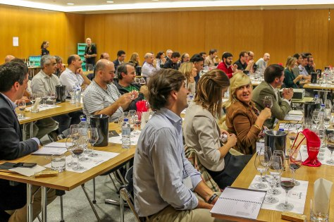 A full house at the Quinta dos Malvedos vertical tasting in Lisbon
