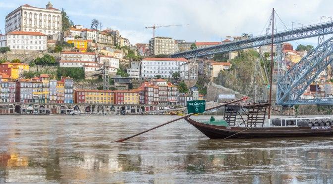 High Water in Vila Nova de Gaia