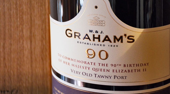 GRAHAM'S MARKS THE QUEEN'S 90TH BIRTHDAY WITH SPECIAL COMMEMORATIVE PORT