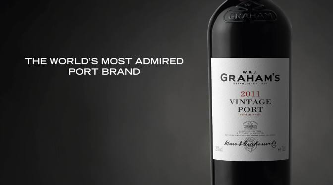 GRAHAM'S VOTED THE WORLD'S MOST ADMIRED PORT BRAND